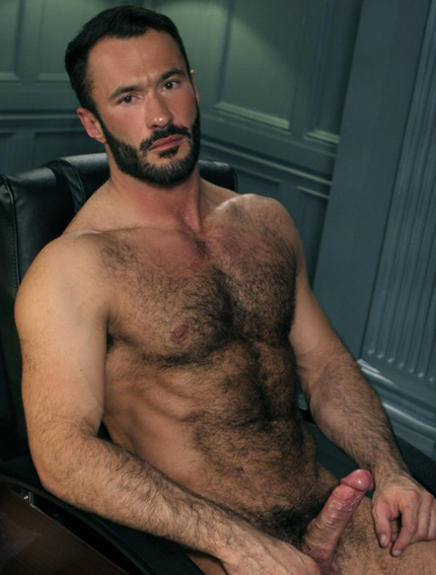 Nude Men With Hairy Chest